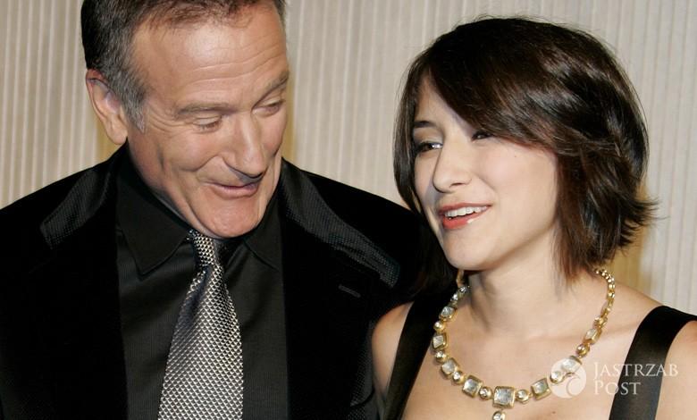Robin Williams i jego córka Zelda Williams (fot. ONS)