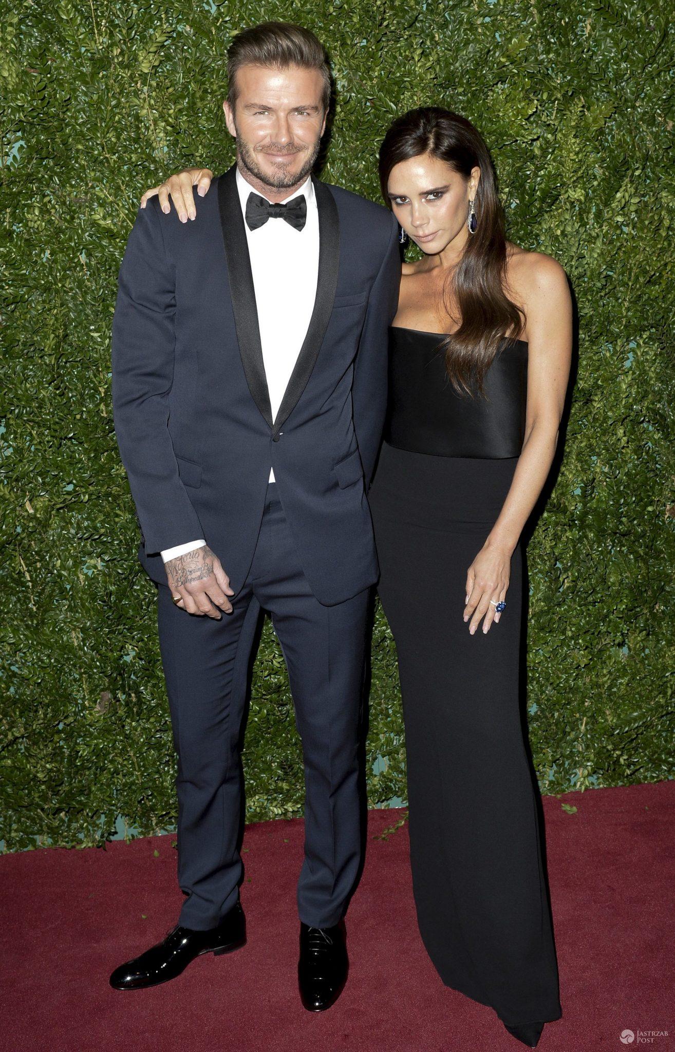 David Beckham i Victoria Beckham (fot. ONS)