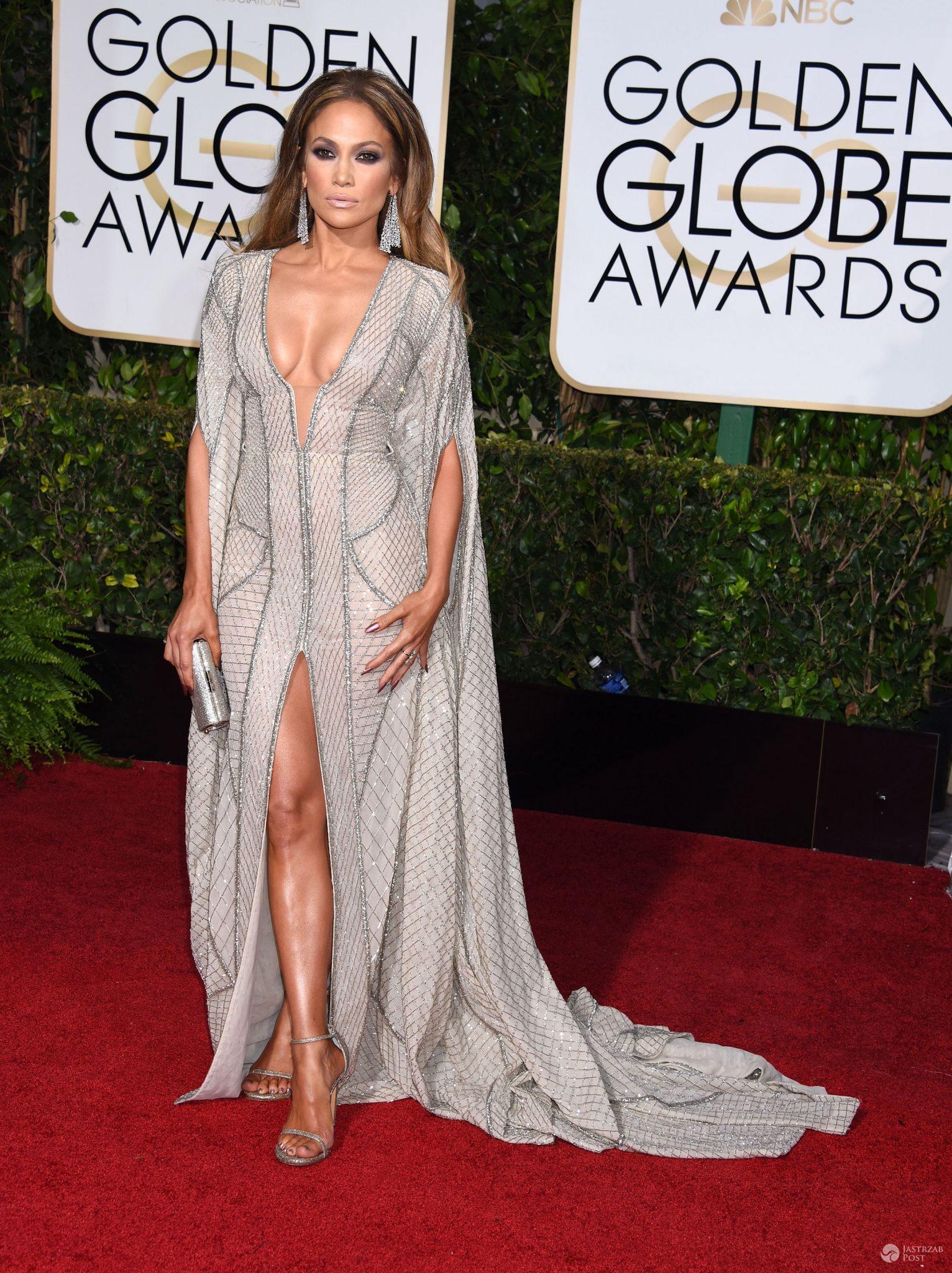 Jennifer Lopez, Złote Globy 2015 (fot. ONS)