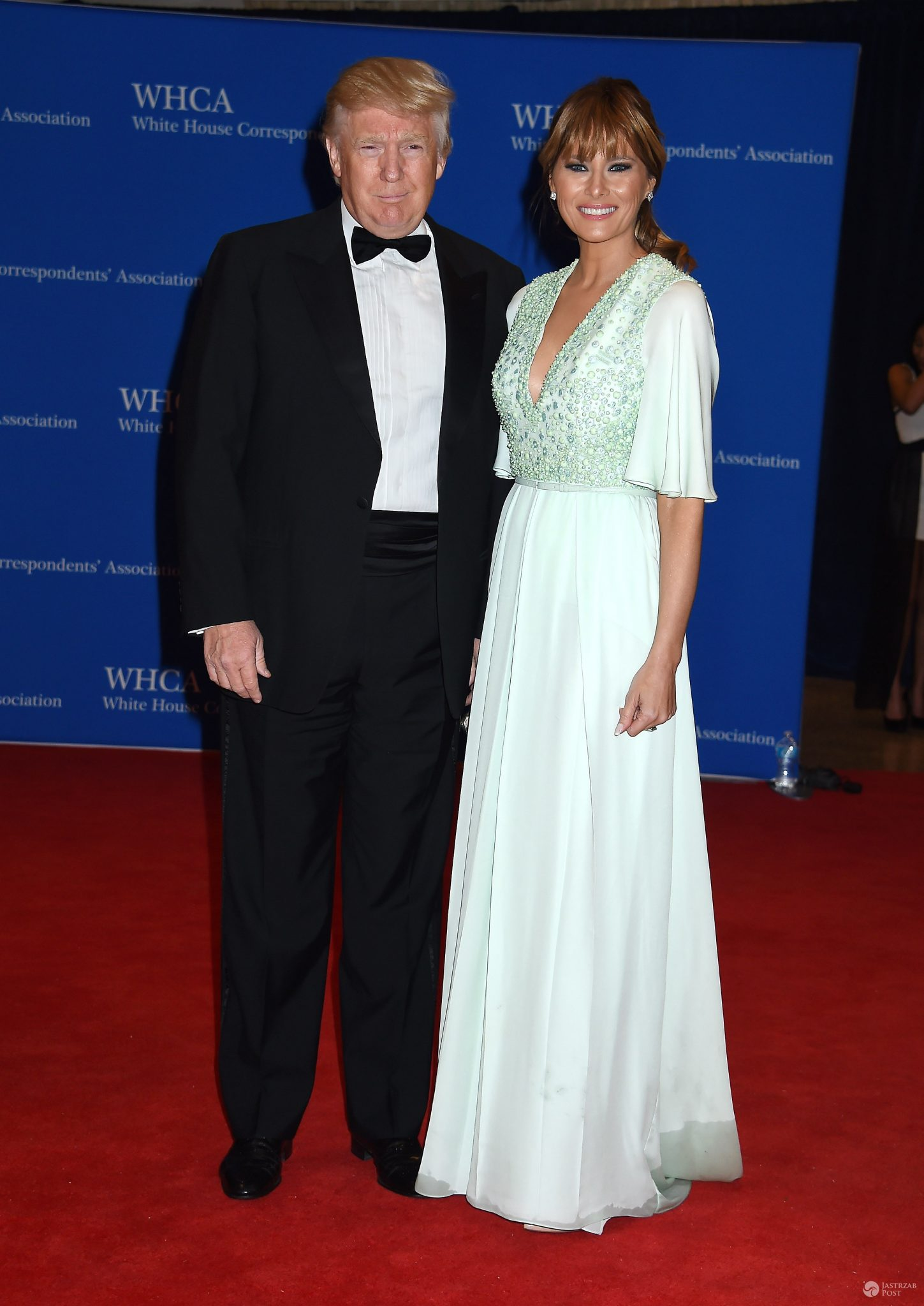 Melania Trump i Donald Trump (fot. ONS)