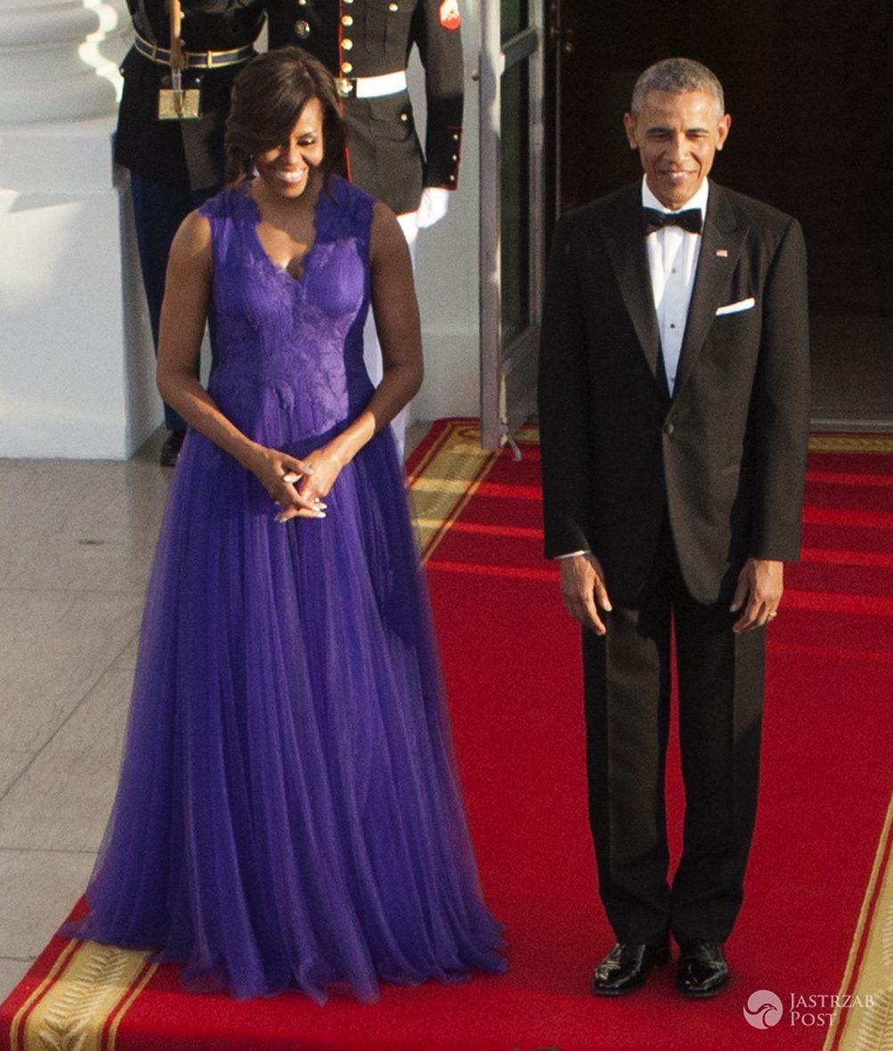Barack Obama i Michelle Obama (fot. ONS)