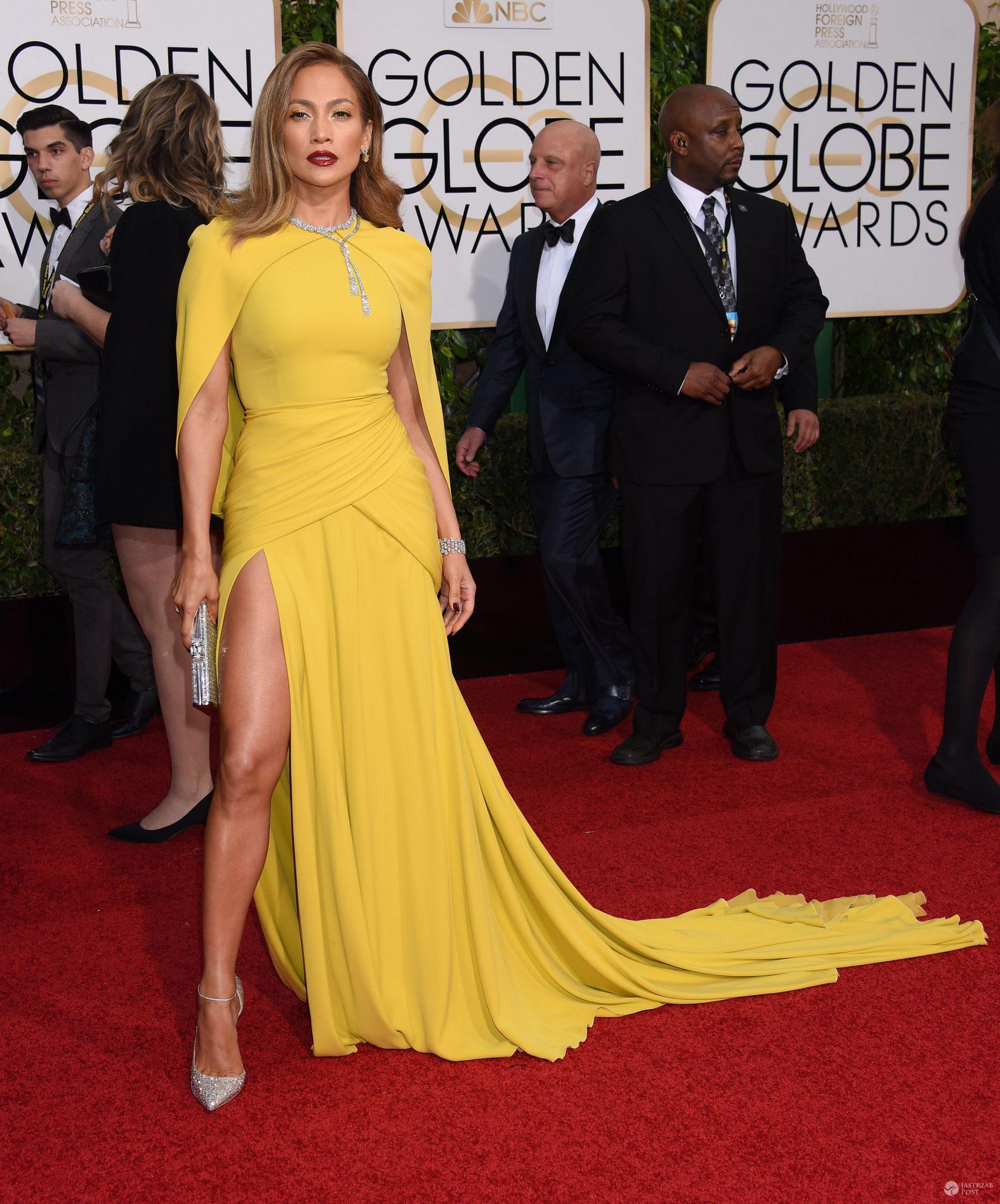 Jennifer Lopez, Złote Globy 2016 (fot. ONS)