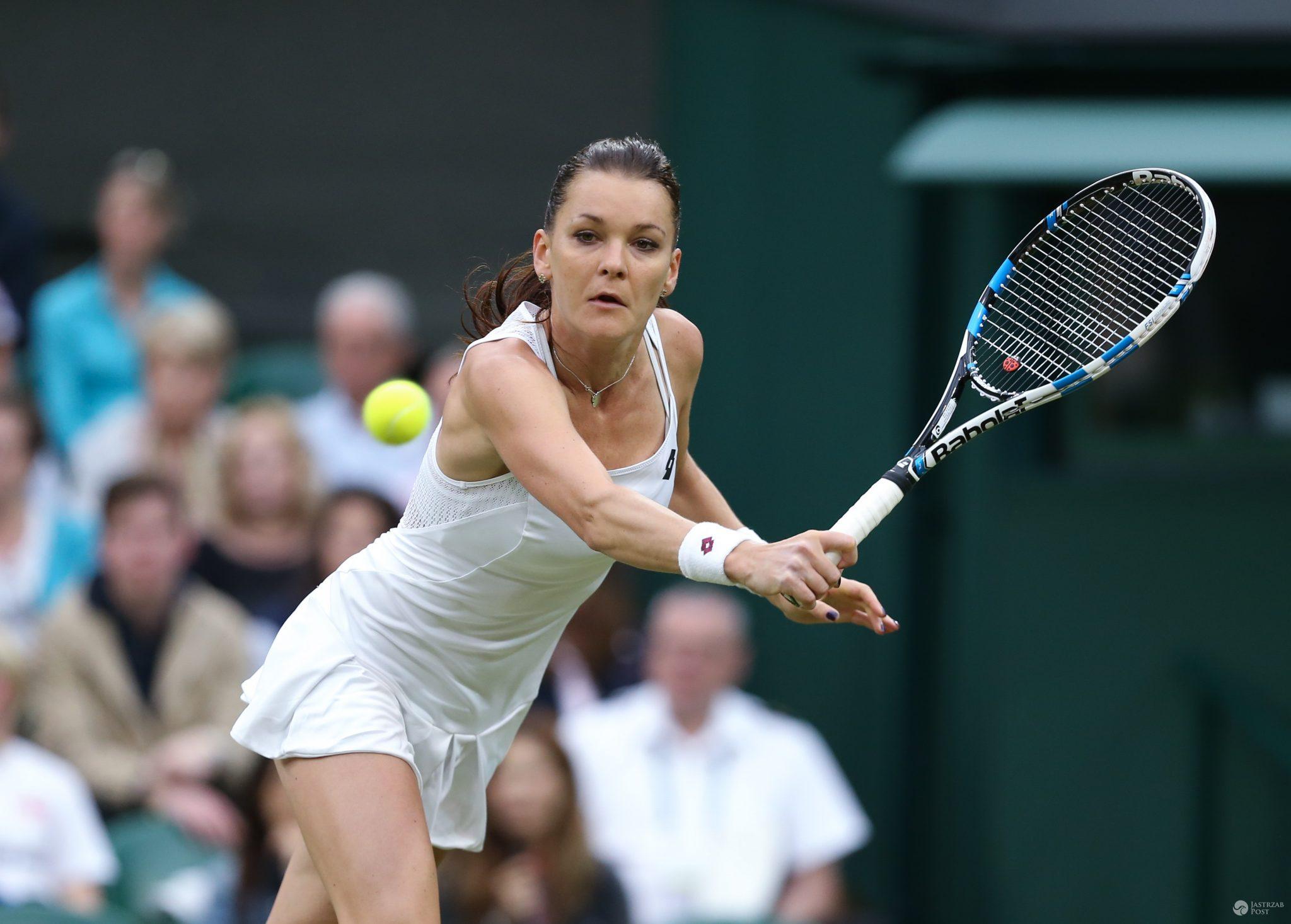 Agnieszka Radwańska w 1/8 Wimbledonu