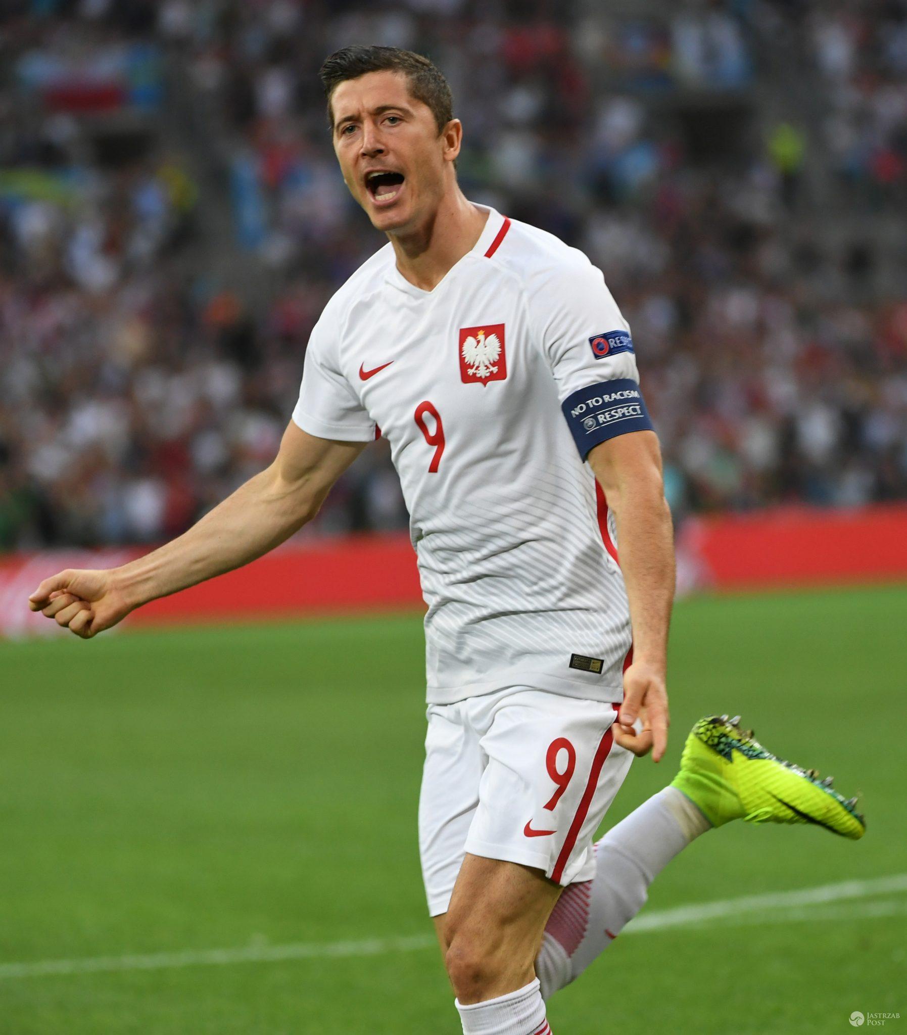 Robert Lewandowski - 3. miejsce w rankingu najczęściej komentowanych w trakcie EURO 2016