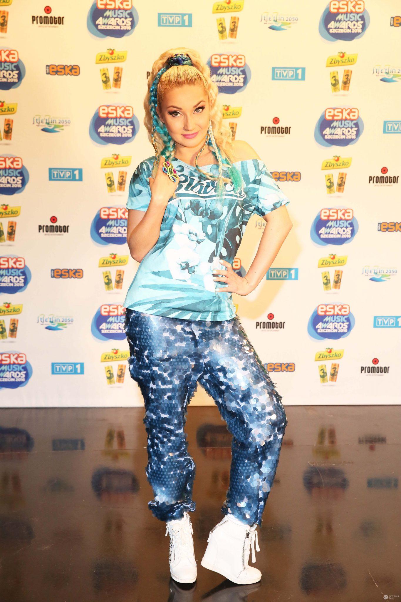 Cleo na ogłoszeniu nominacji do ESKA Music Awards 2016