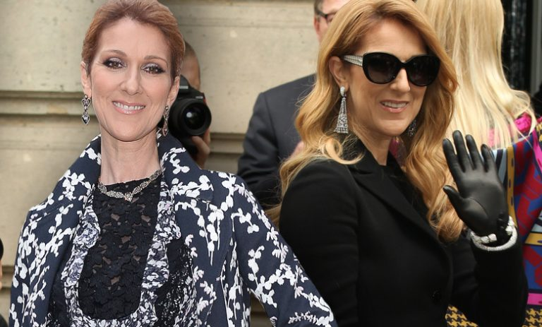 Celine Dion na Paris Fashion Week (fot. ONS)