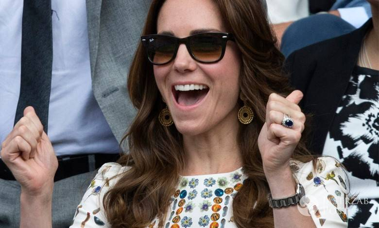 Księżna Kate i książę William w finale Wimbledonu (fot. ONS)