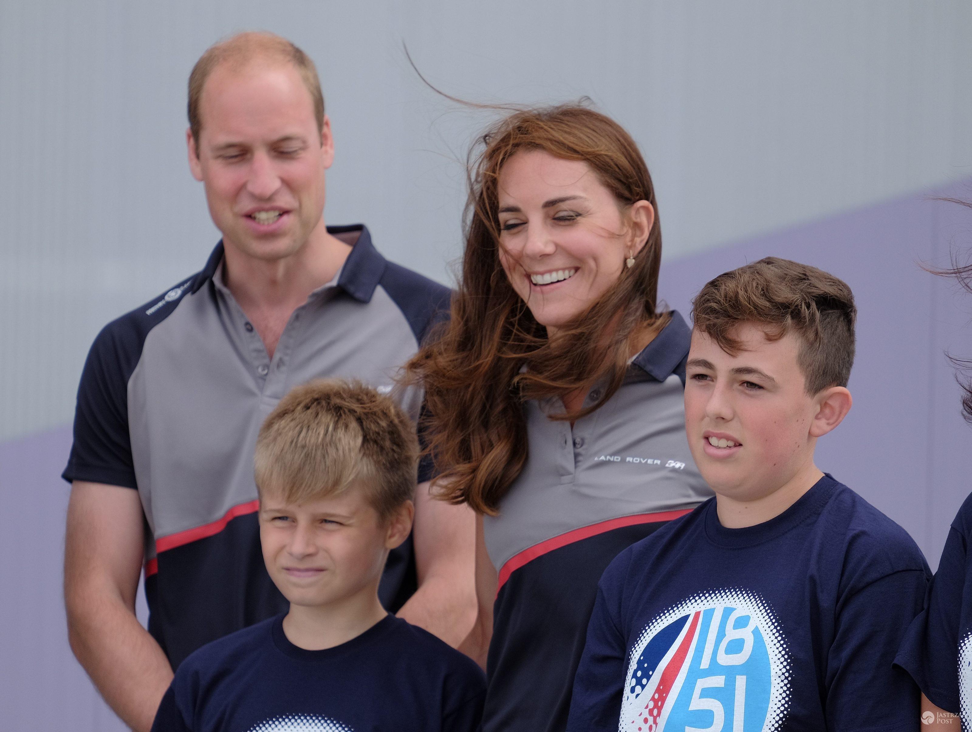 Książę William i księżna Kate na zawodach America's Cup w Portsmouth (fot. ONS)