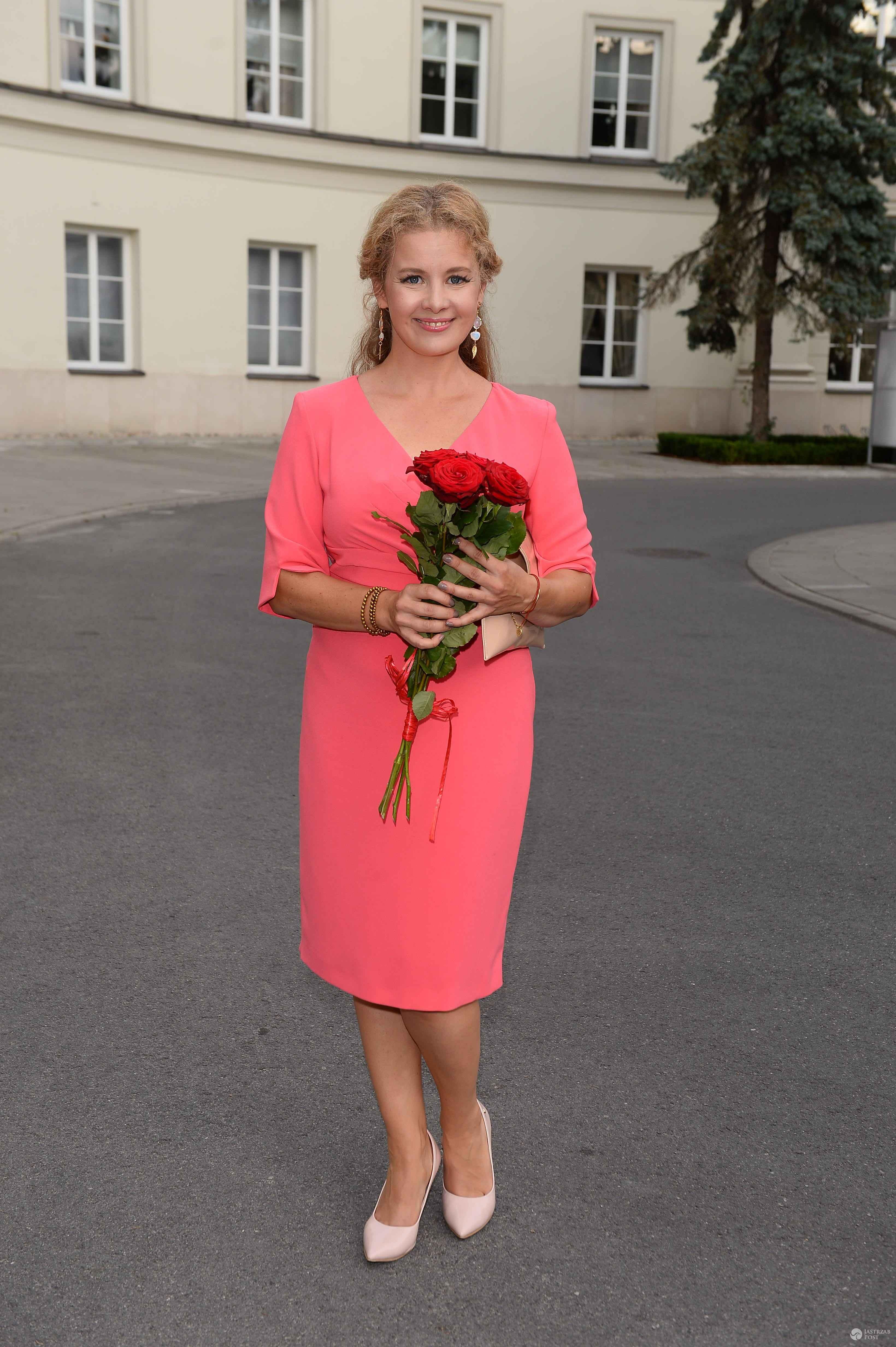 Anna Powierza na imieninach Anny Jurksztowicz