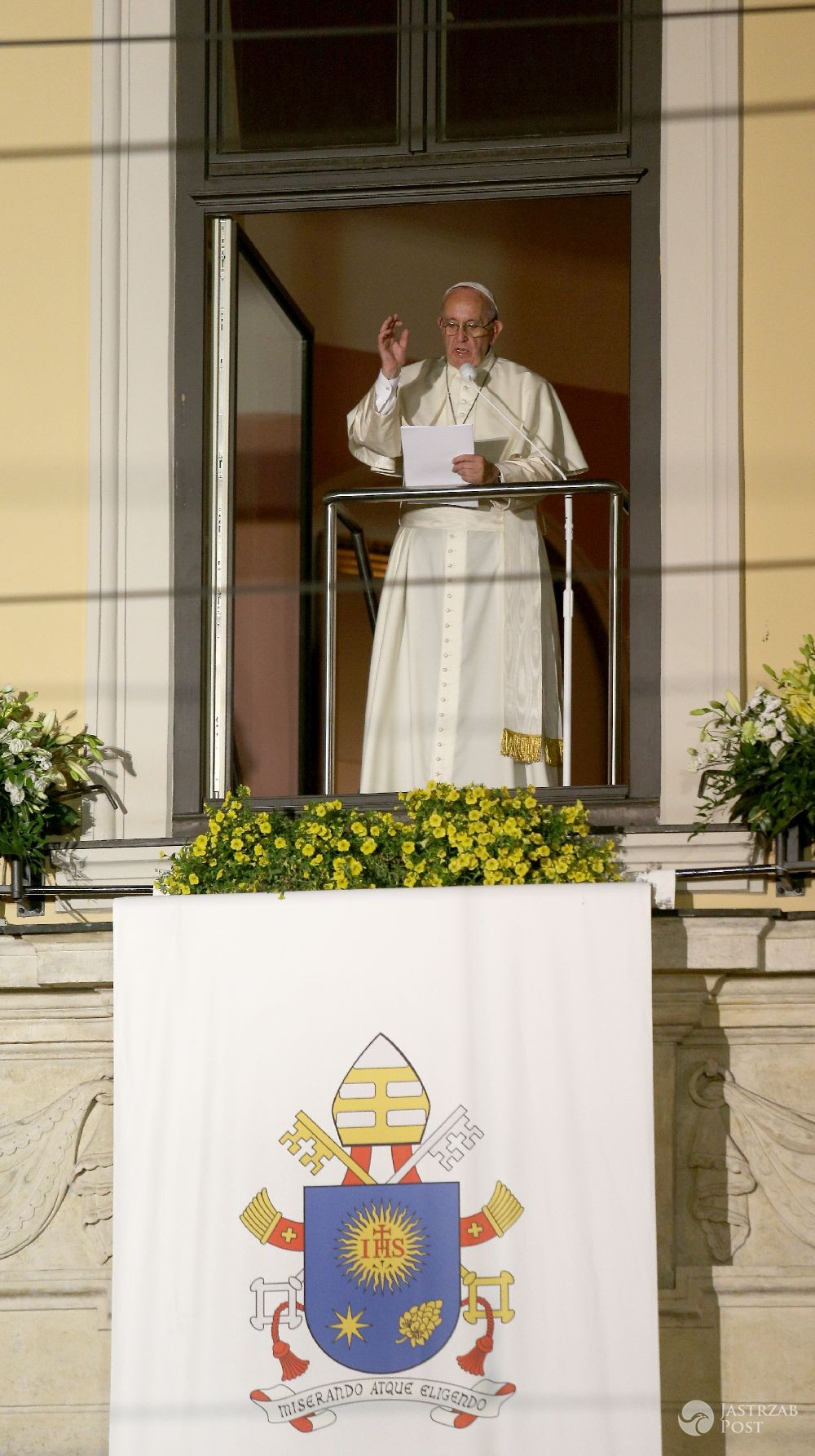 Papież Franciszek uczy się polskiego. Wideo