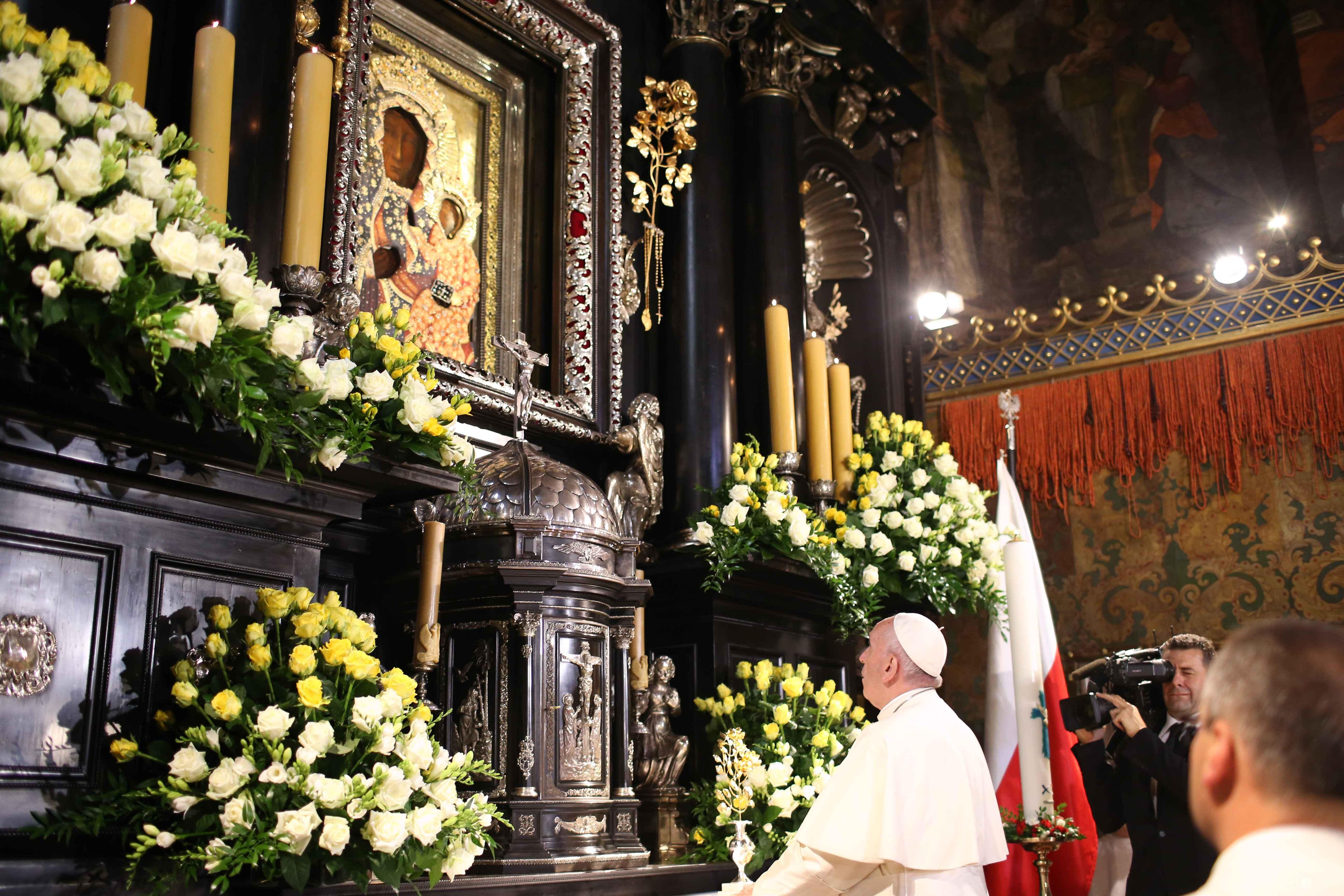 Papież Franciszek w Częstochowie