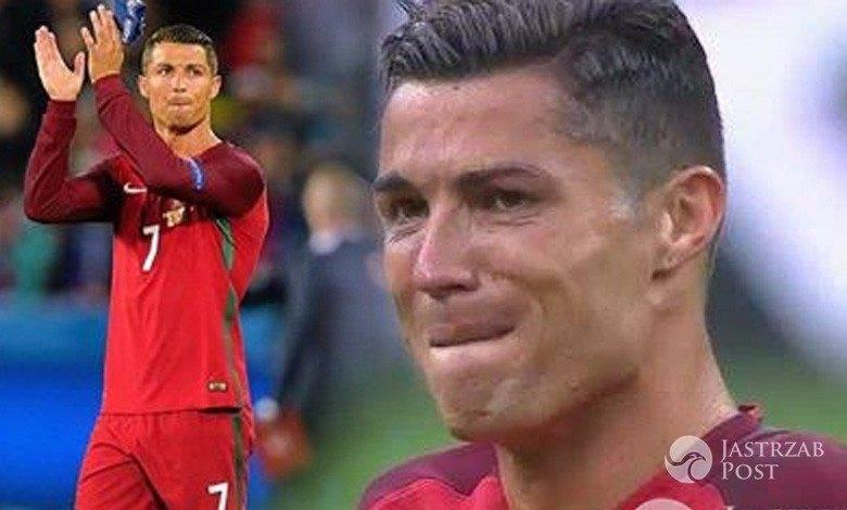 Cristiano Ronaldo kontuzjowany w finale EURO 2016
