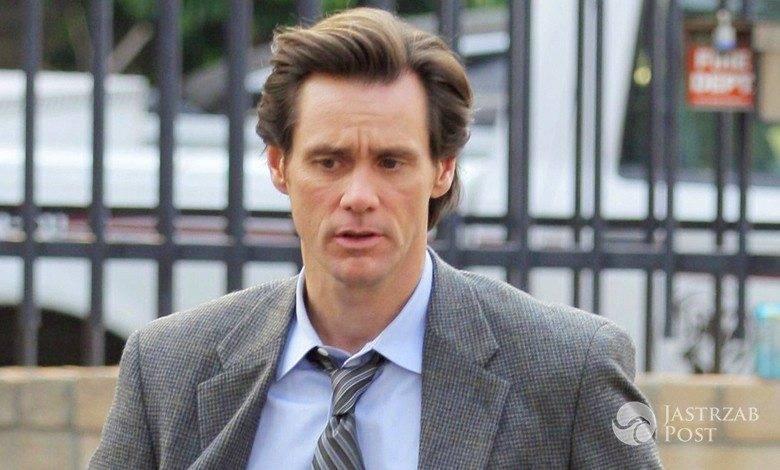Jim Carrey o śmierci swojej partnerki