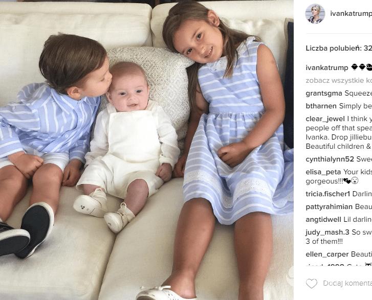 Zdjęcia dzieci Ivanki Trump