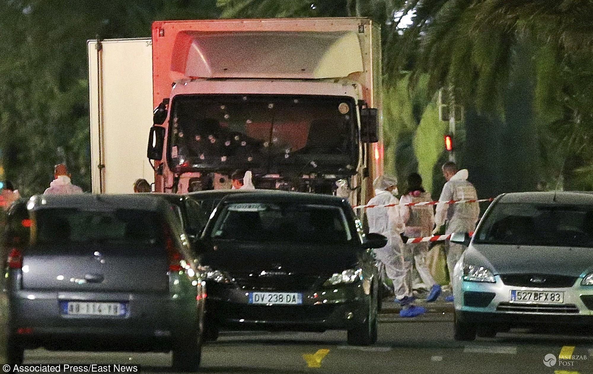 Zamach w Nicei zdjęcia