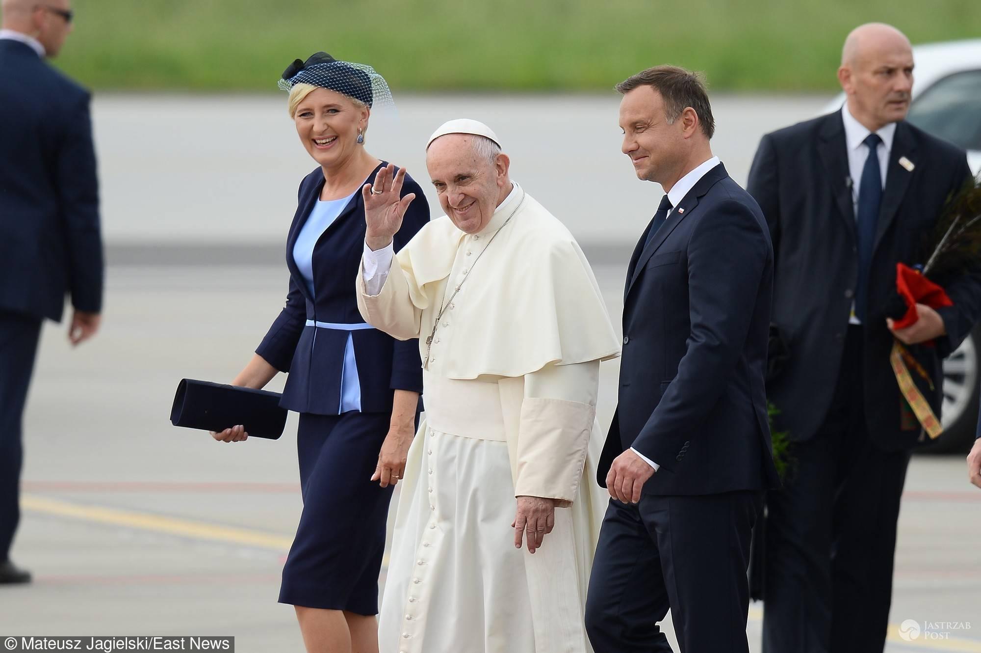 Powitanie Papieża Franciszka w Polsce fot. East News
