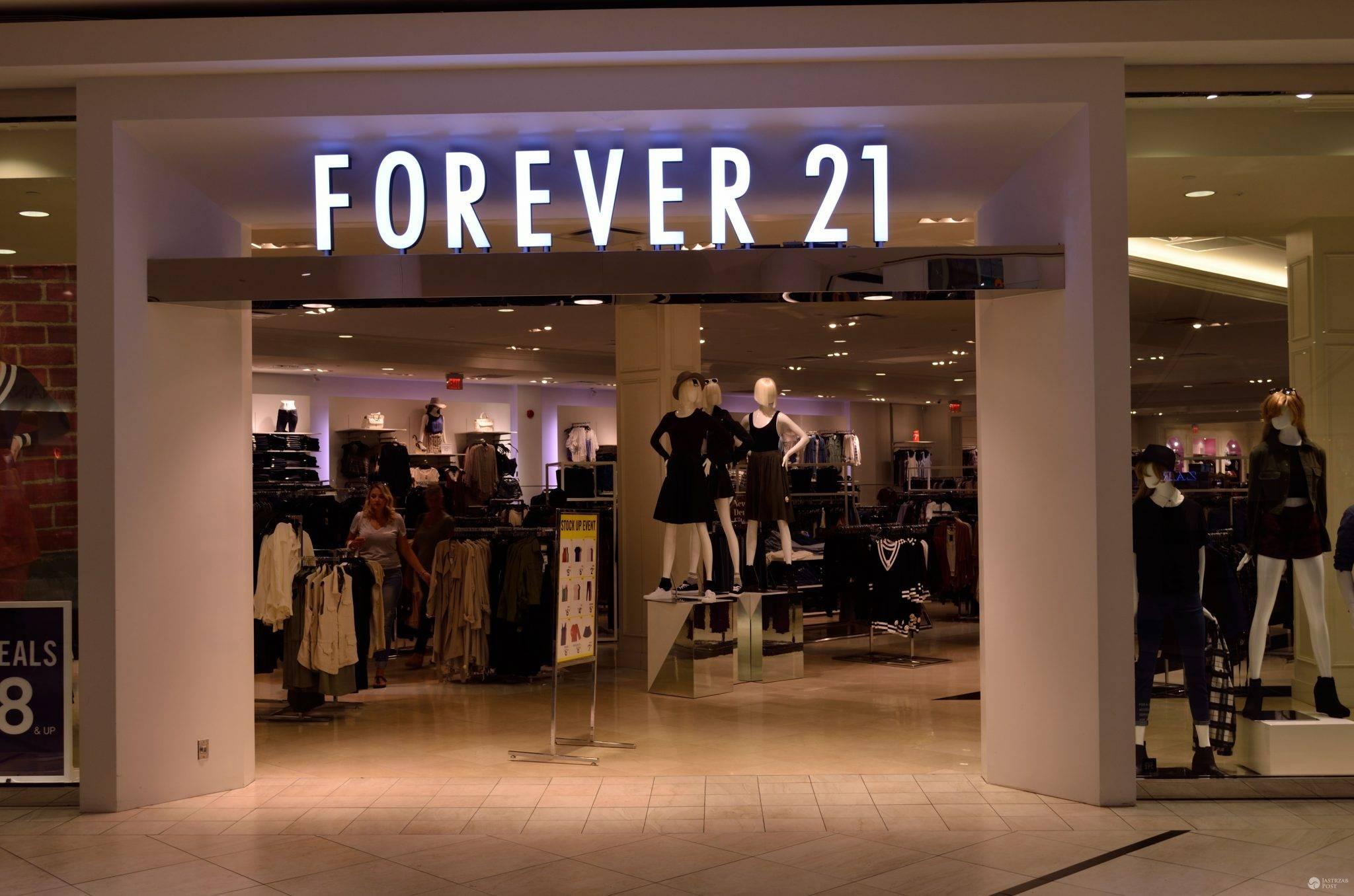 Sklepy Forever 21 w Polsce jakie miasta