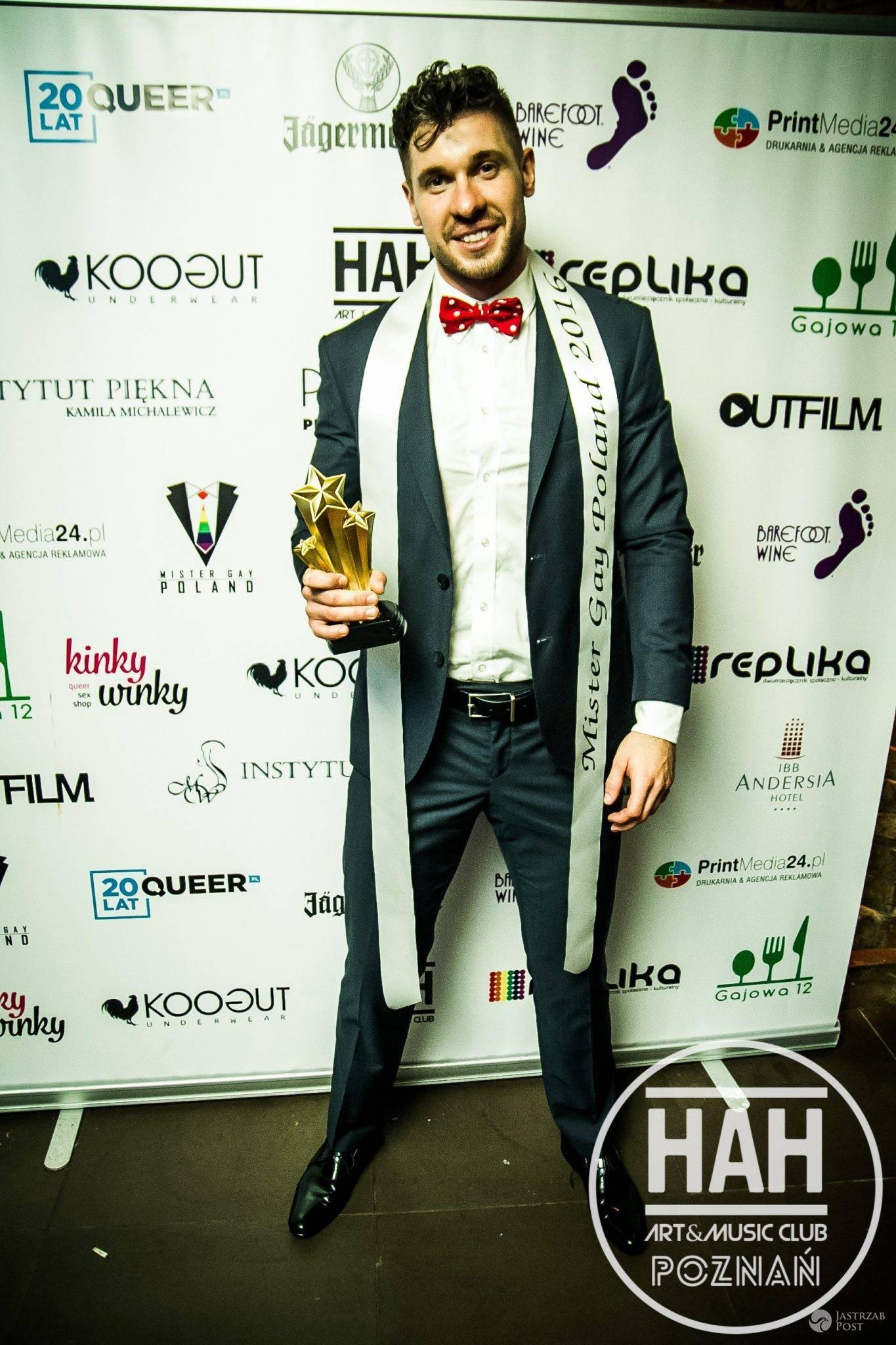 Kto wygrał Mister Gay Poland 2016? Andrzej Berg