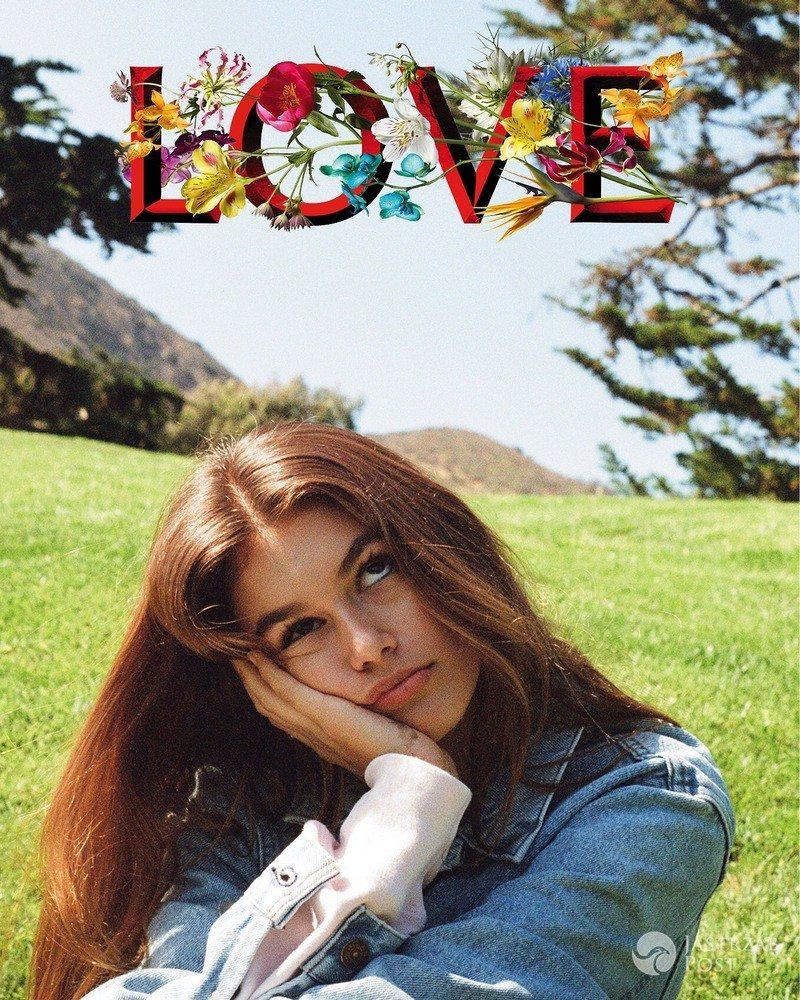 Kaia Gerber, Love nr 1 (fot. Kendall Jenner dla Love)