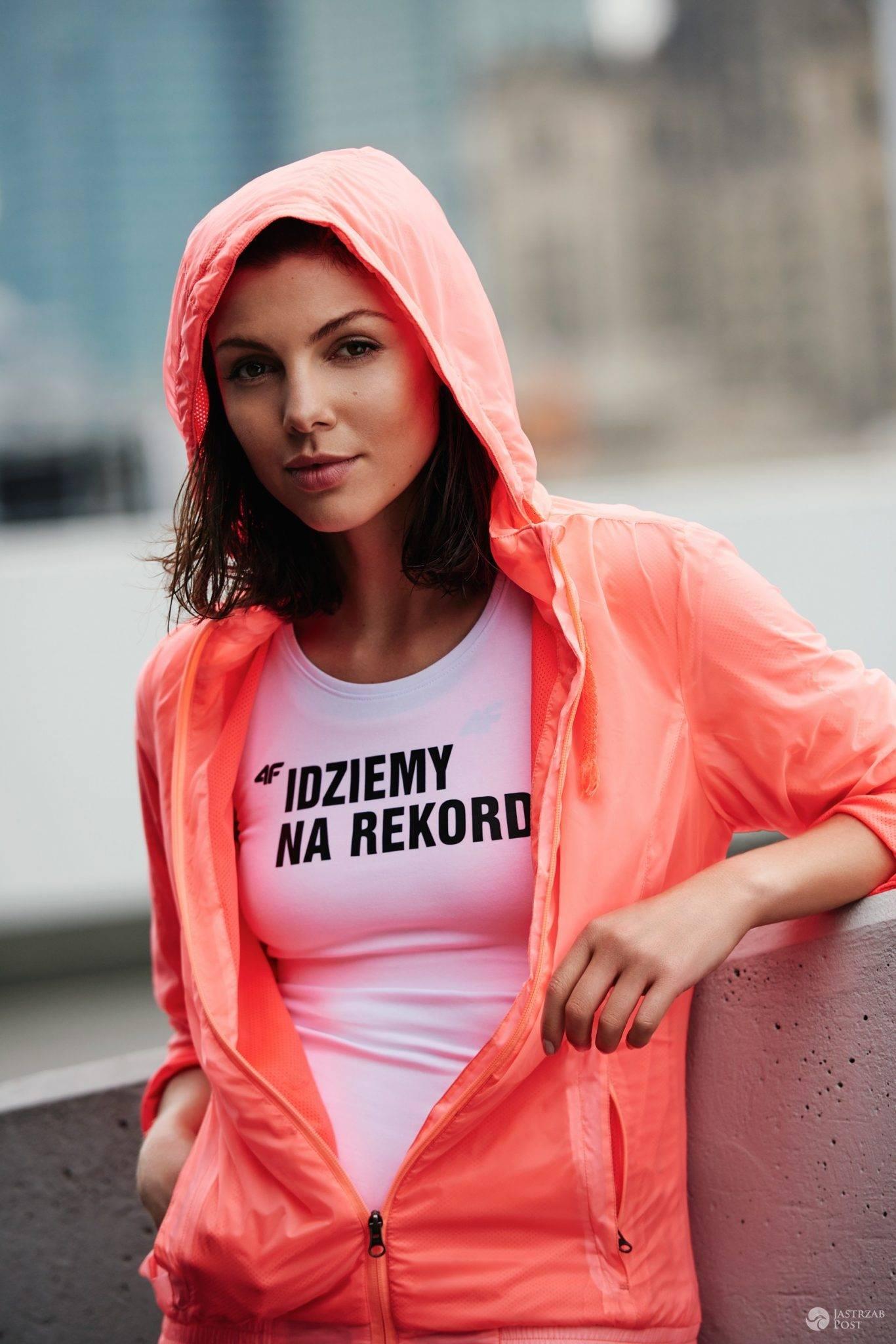 Karolina Gorczyca ambasadorką marki 4F (fot. mat. pras.)