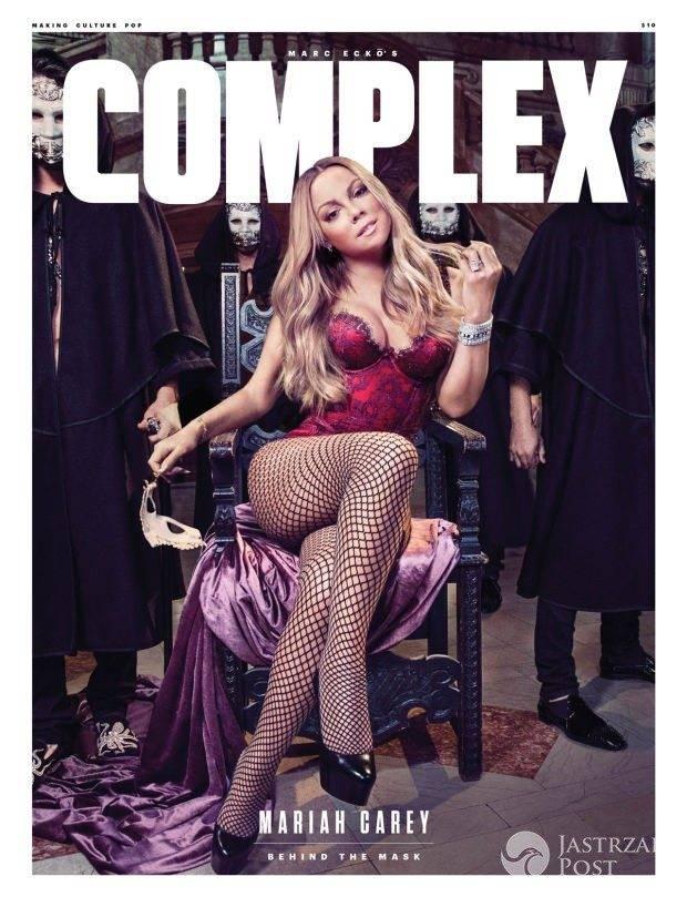Mariah Carey na okładce magazynu