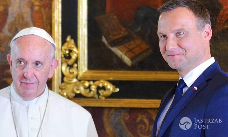 Papież Franciszek, Andrzej Duda