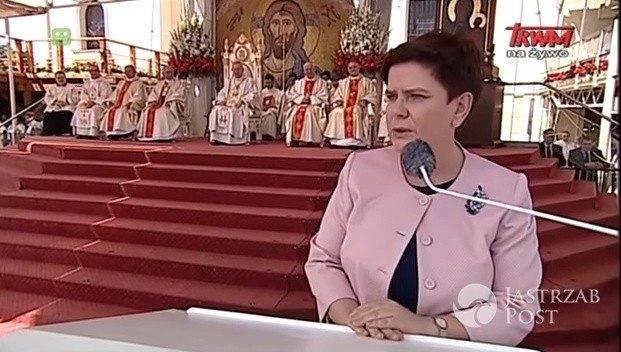 Beata Szydło w Częstochowie