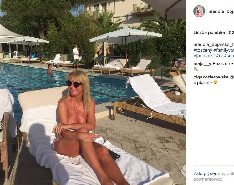 Mariola Bojarska-Ferenc topless