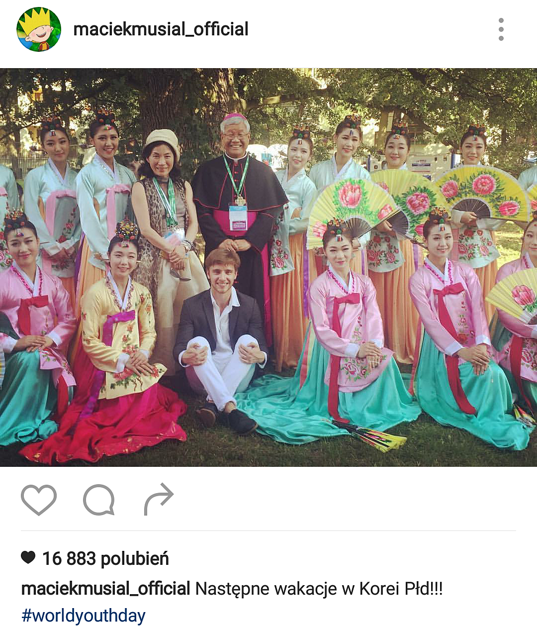 Maciej Musiał szuka żony na Światowych dniach młodzieży