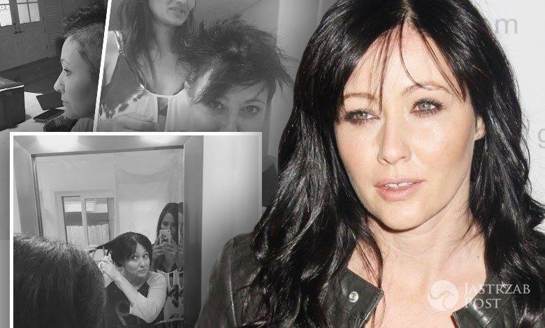 Shannen Doherty zgoliła włosy na łyso