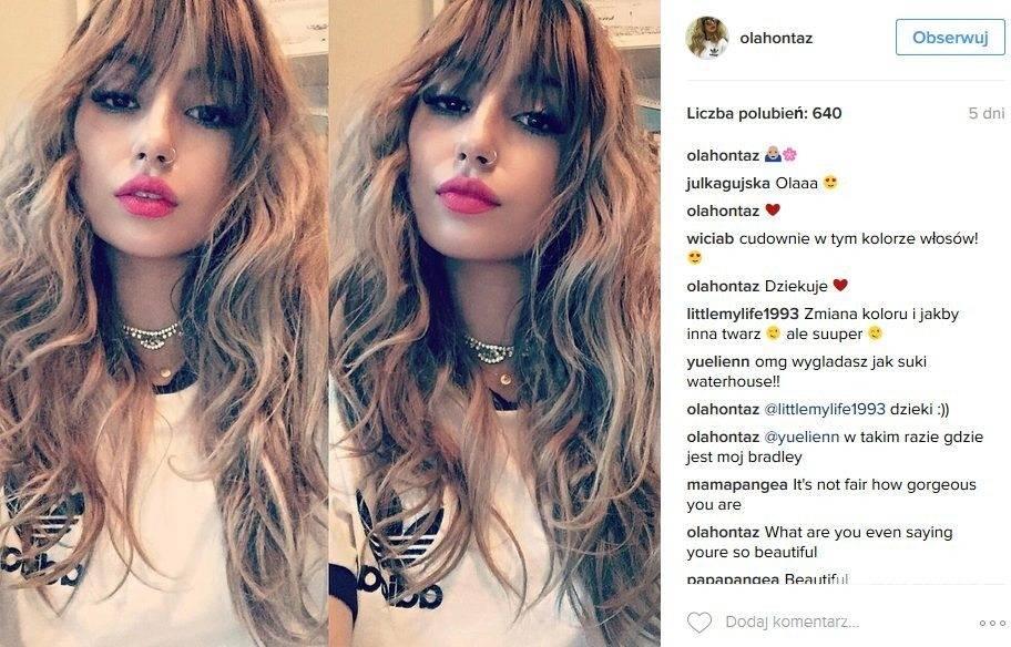 Blondwłosa córka Kasi Kowalskiej Aleksandra Yoriadis na Instagramie