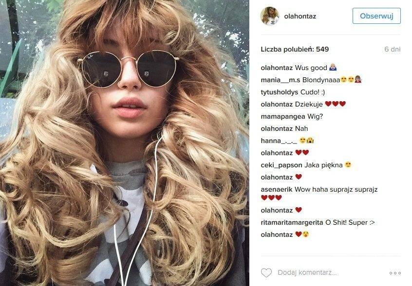 Córka Kasi Kowalskiej Aleksandra Yoriadis zmieniła fryzurę