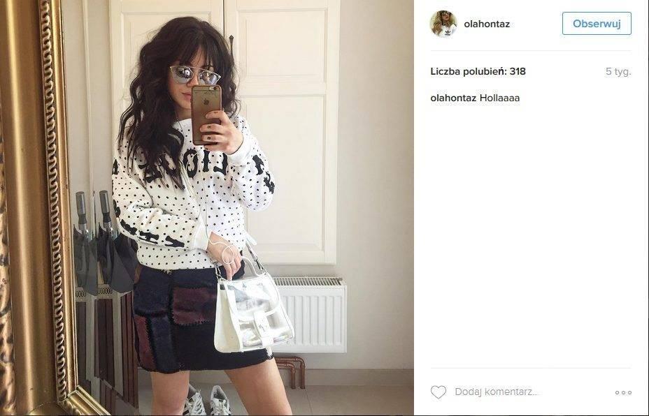 Córka Kasi Kowalskiej Aleksandra Yoriadis na Instagramie