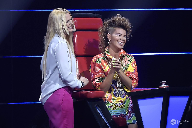"Maria Sadowska i Edyta Górniak w ""The Voice of Poland"" (fot. AKPA)"