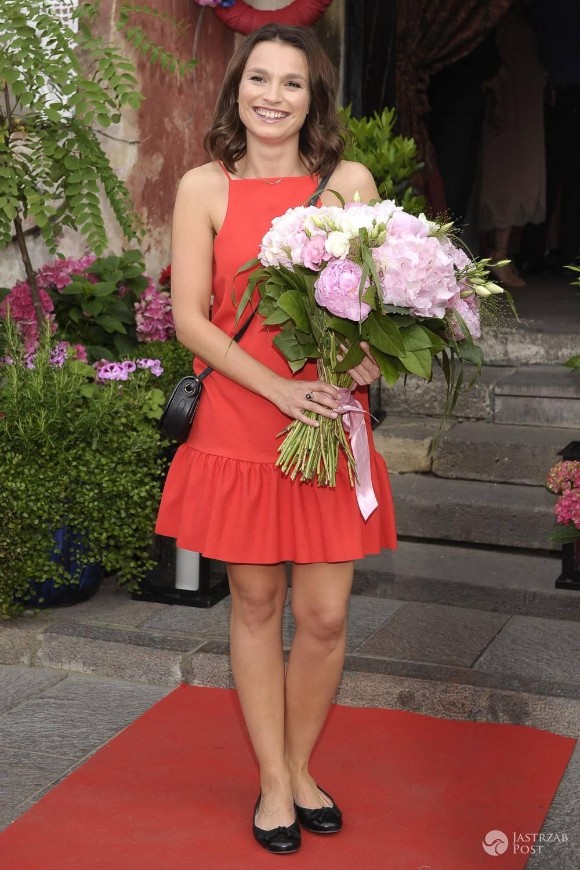 Anna Starmach, rozdanie nagród Poziomki 2016/2017 (fot. AKPA)
