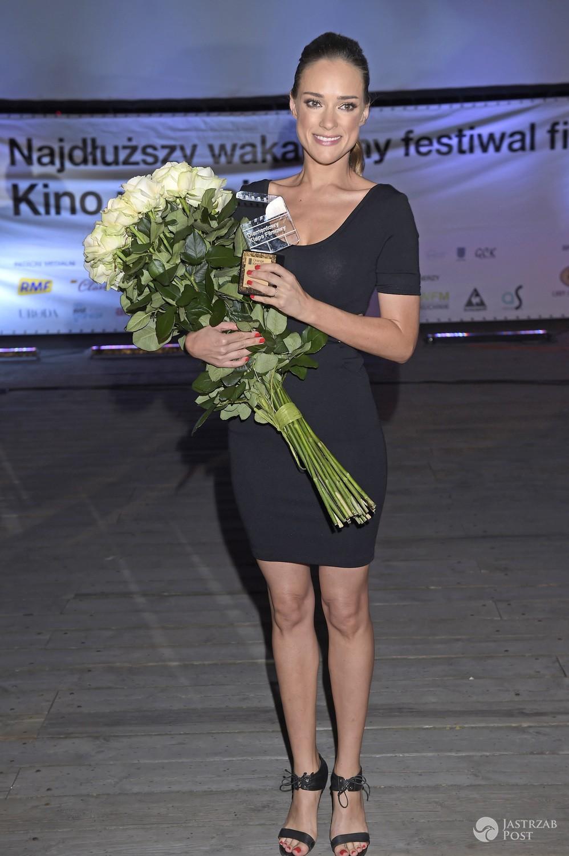 Alicja Bachleda-Curuś z nagrodą Diamentowego Klapsa - Orange Kino Letnie 2016