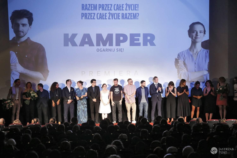 """Premiera filmu """"Kamper"""" (fot. AKPA)"""