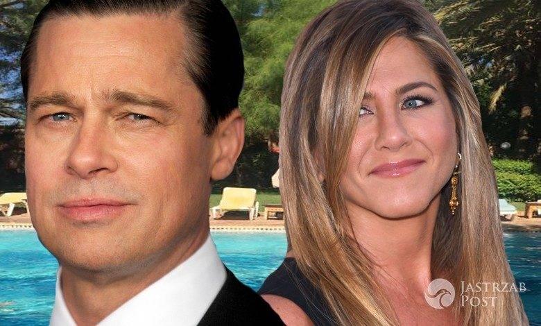 Brad Pitt skontaktował się z Jennifer Aniston