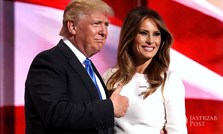Donald Trump o przemówieniu Melanii Trump