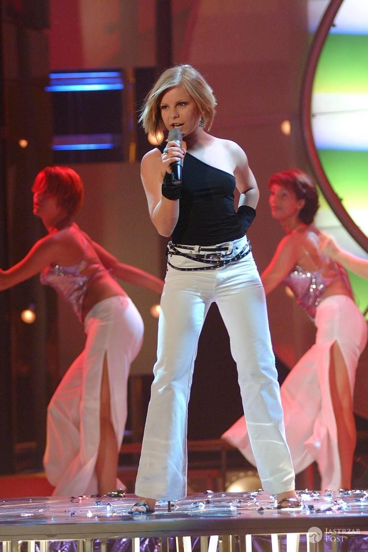Alicja Janosz w Idolu w młodości