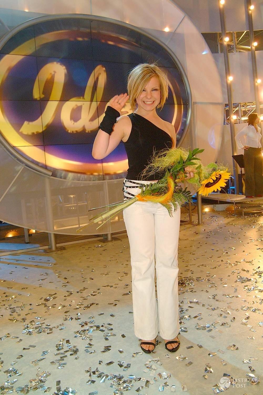 Alicja Janosz, zwyciężczyni pierwszej edycji Idola (2002 rok)