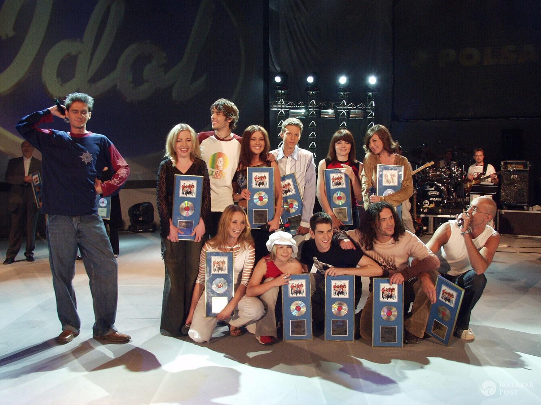 Finaliści pierwszej edycji Idola w Polsce