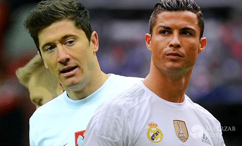 Cristiano Ronaldo podszedł do Roberta Lewandowskiego na EURO 2016