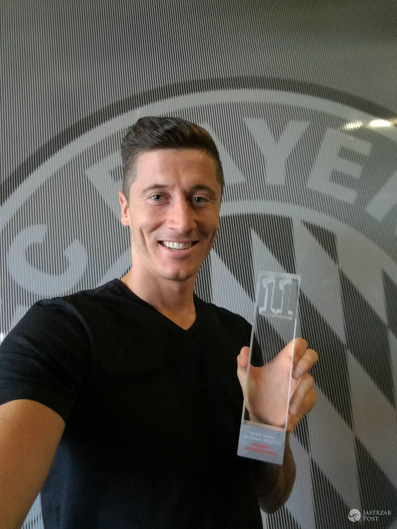Robert Lewandowski najlepszym piłkarzem Bundesligi 2016