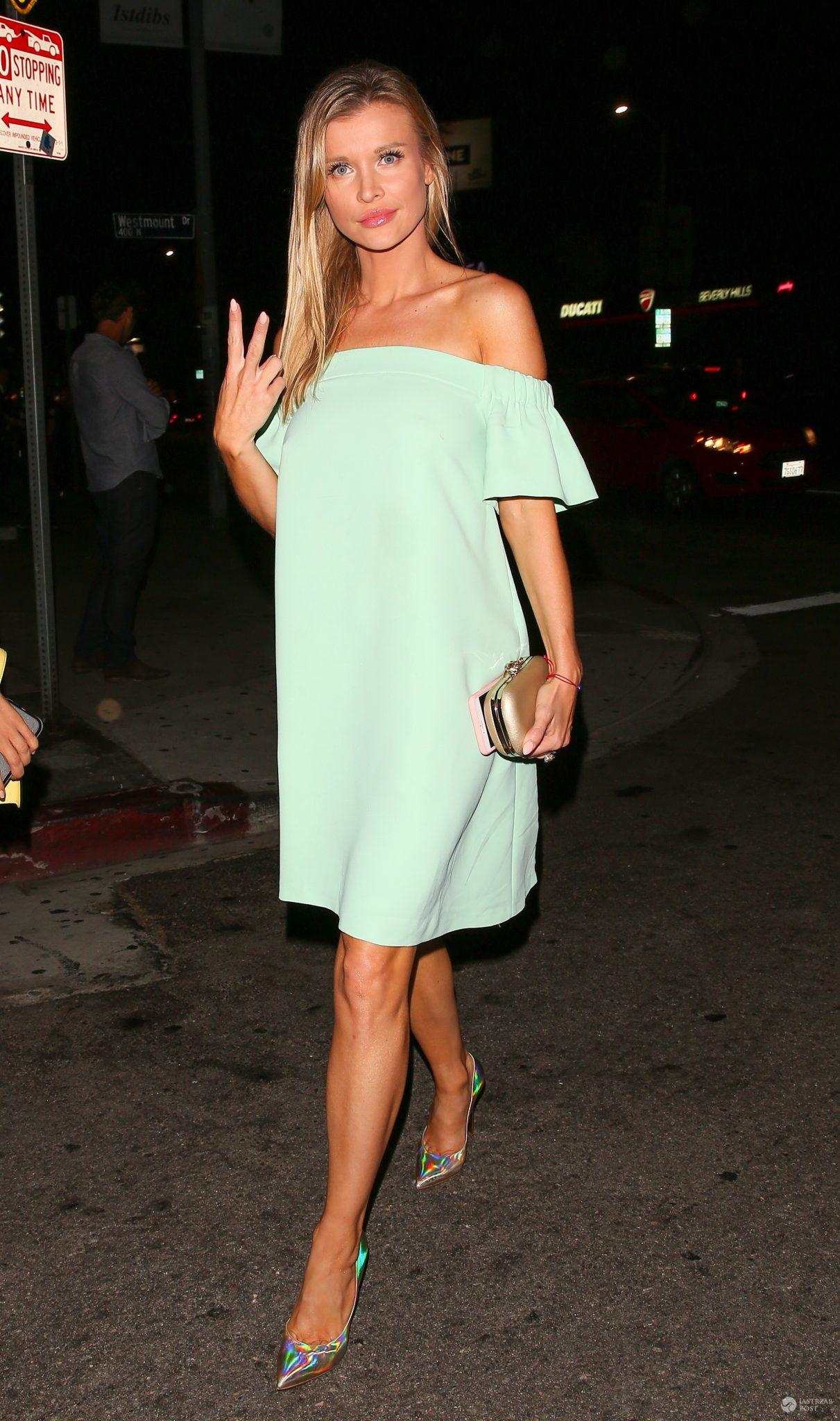 Joanna Krupa w sukience Bizuu na imprezie w Los Angeles
