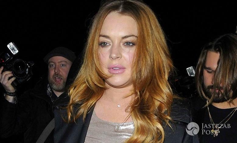Komentarz Lindsay Lohan po pobiciu