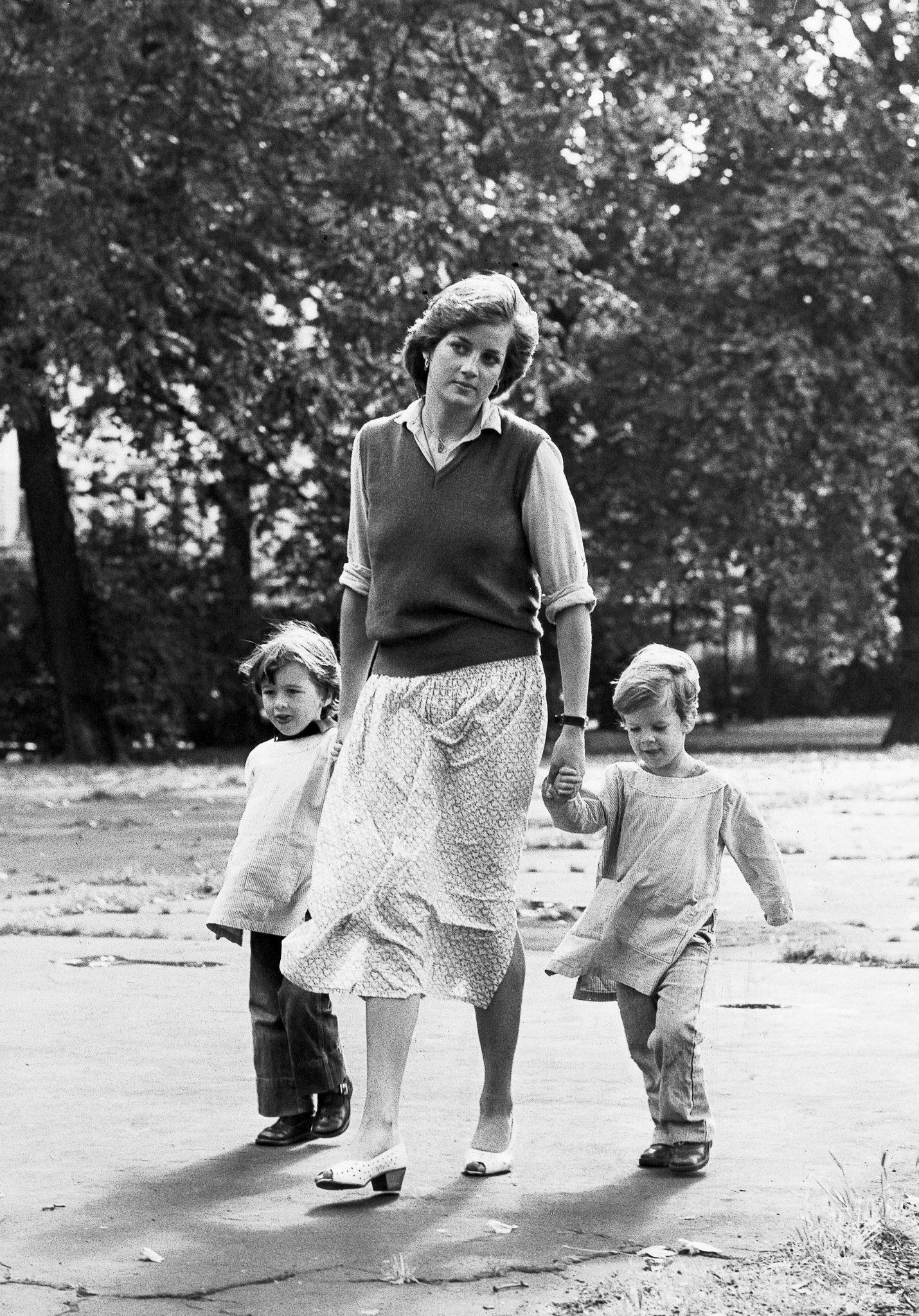 Księżna Diana z synami (fot. ONS)