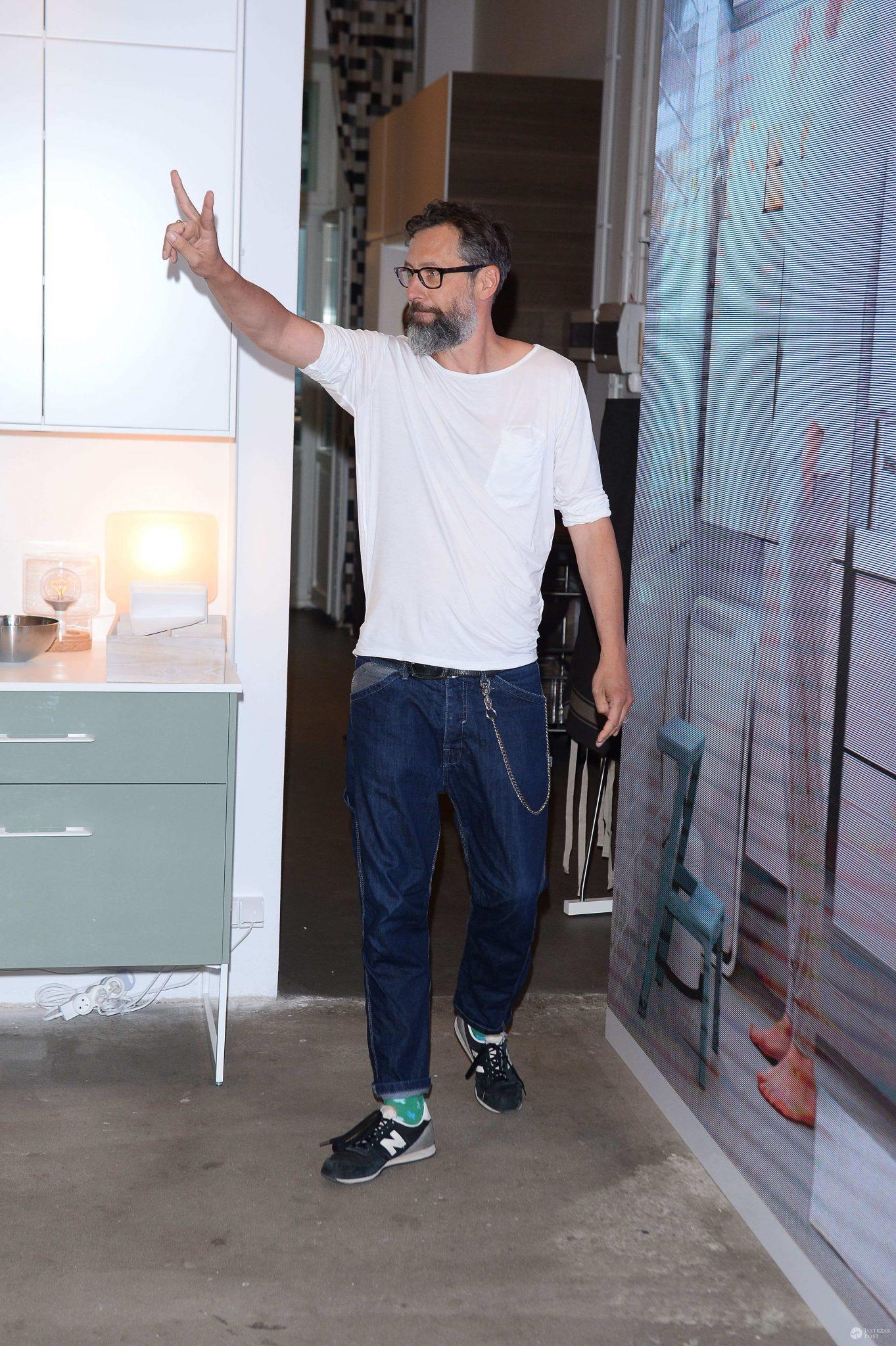 Szymon Majewski - premiera katalogu Ikea 2016