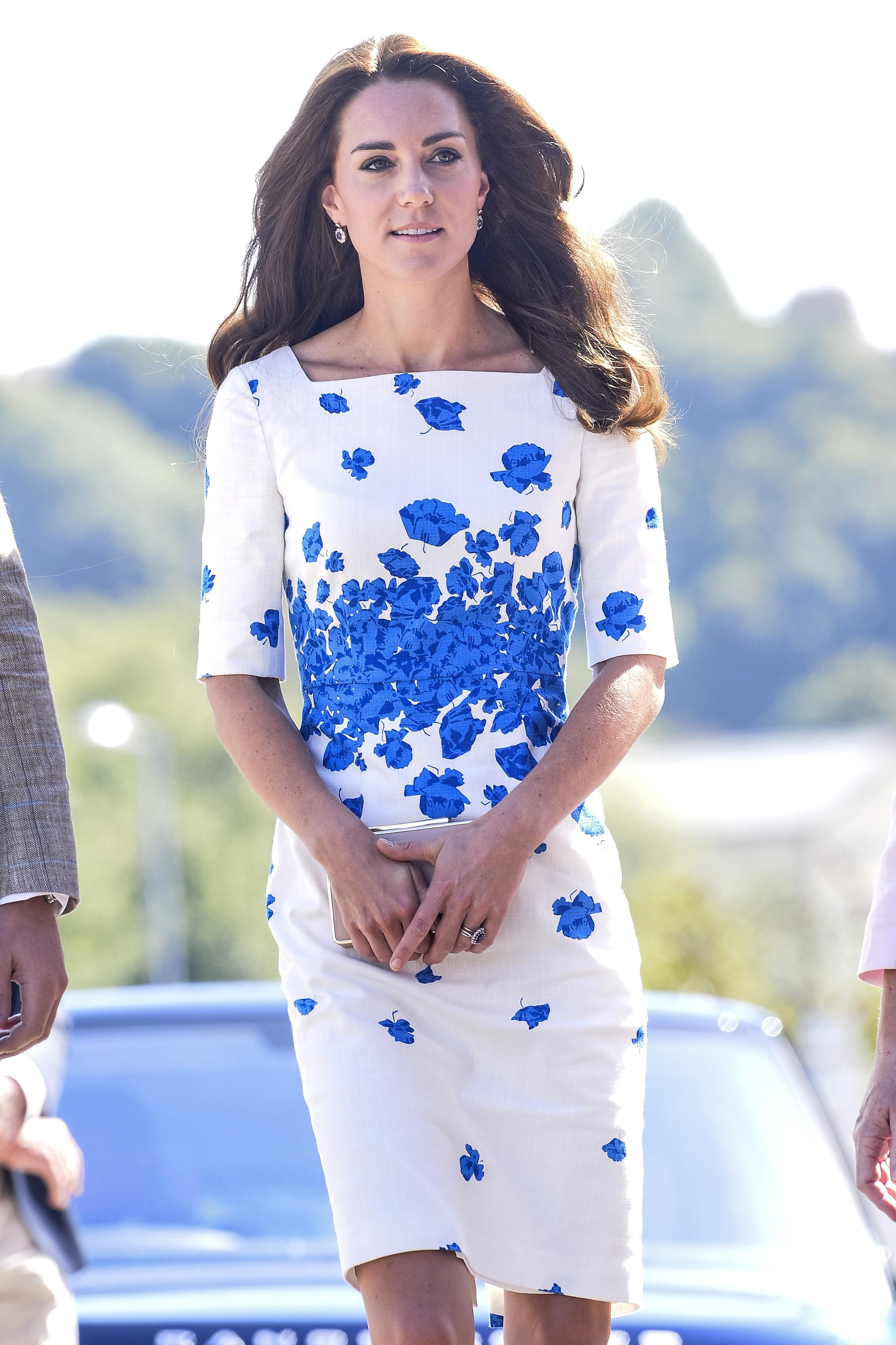 Księżna Kate w sukience L.K.Bennett