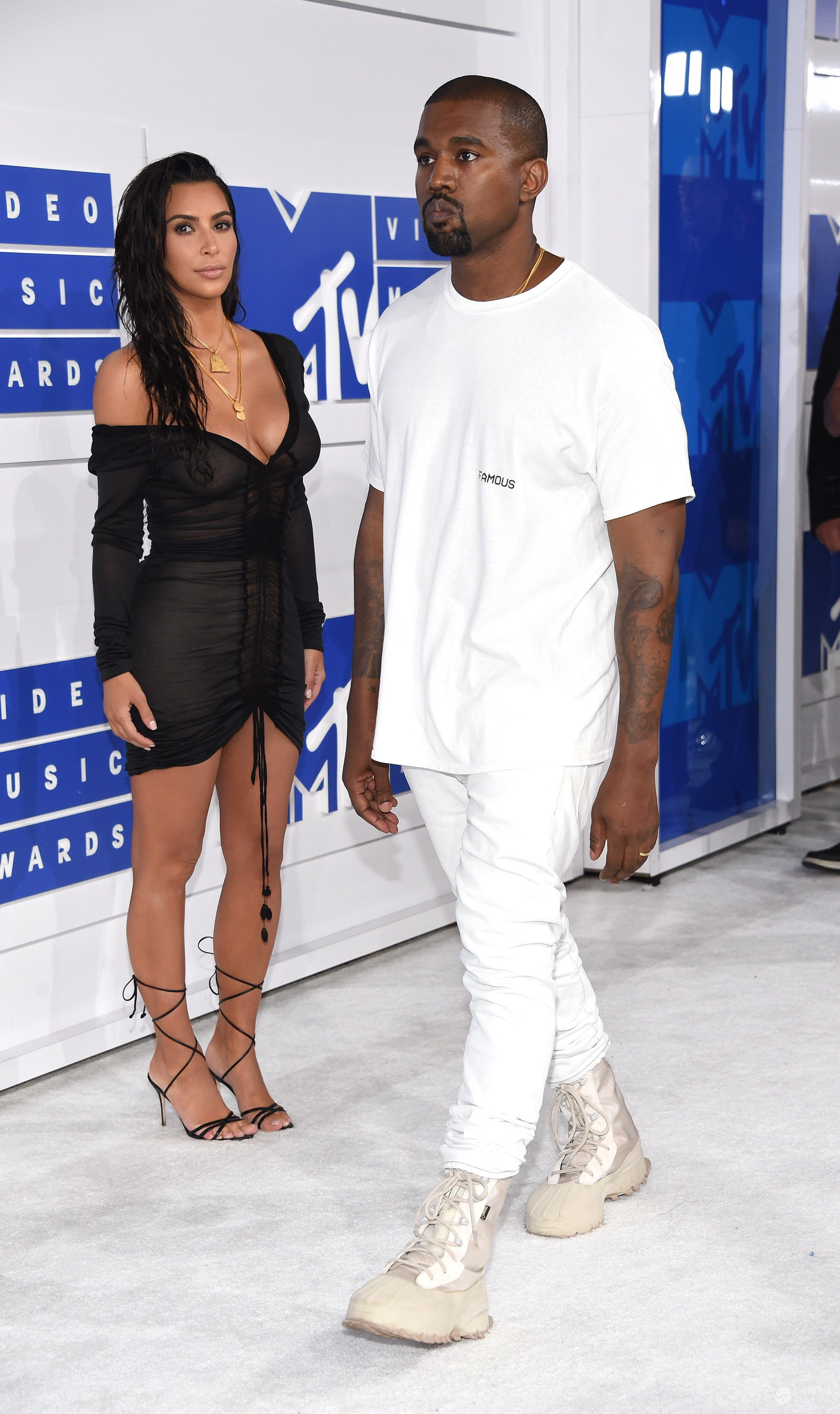 Kanye West i Kim Kardashian - MTV Video Music Awards 2016